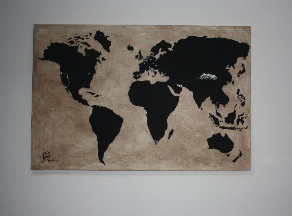 'The Travelers Worldmap'